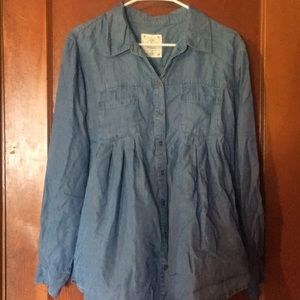 Style & Co Button Down Top